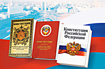 Все принятые конституции россии