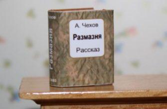 Рассказ Чехова «Размазня»