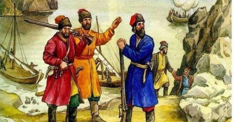 Русские землепроходцы 11-17 века
