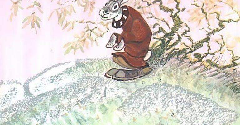 Самоотверженный заяц сказка