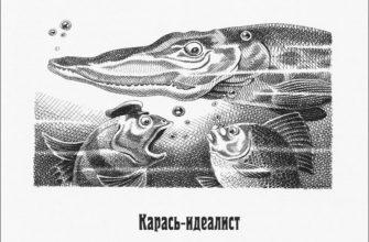 Сказка Салтыкова-Щедрина «Карась-идеалист»