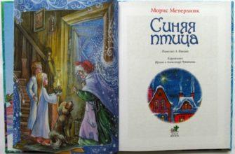 Сказка «Синяя птица» Мориса Метерлинка