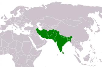 Страны Южной Азии