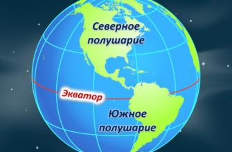 Что такое экватор в географии 5 класс
