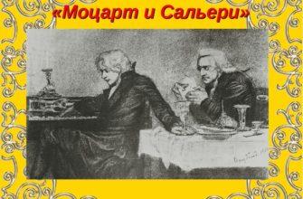 Трагедия А. Пушкина «Моцарт и Сальери»
