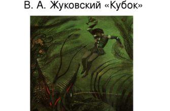 Баллада «Кубок» Жуковского