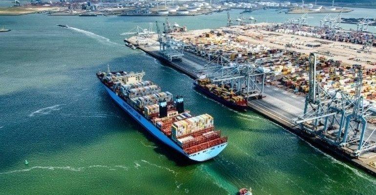 Большие морские порты зарубежной Европы