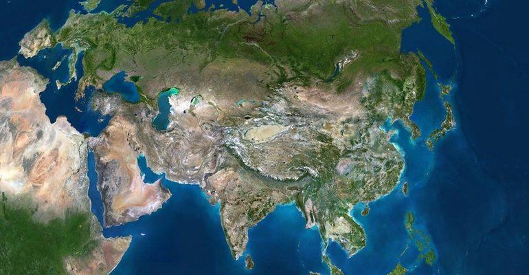 Евразия — это крупнейший на планете материк