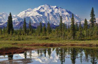 Горы в северной америке