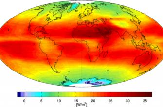 Климатические пояса на карте земли