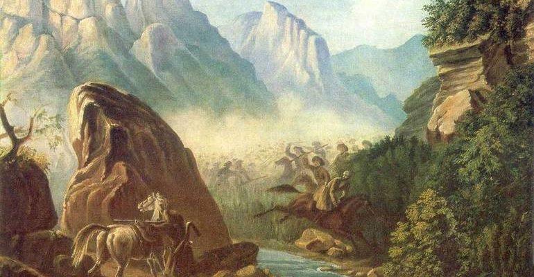 Мцыри описание природы