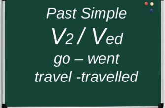 Past simple примеры
