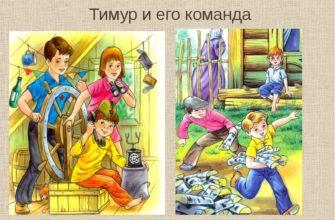 Повесть «Тимур и его команда»