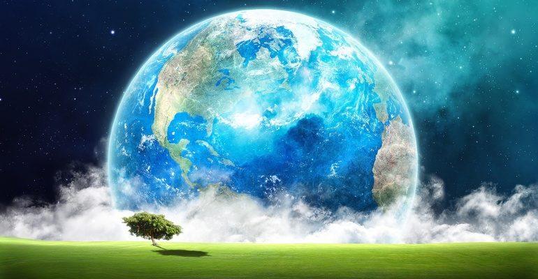 Природные зоны земли карта