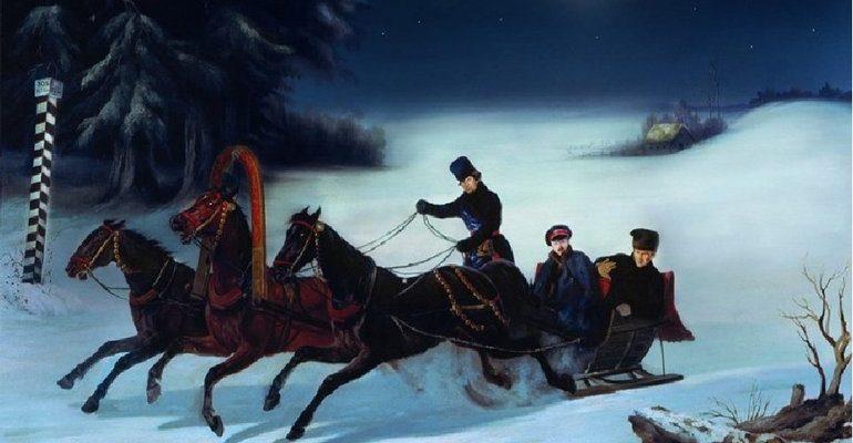 Пушкин зимняя дорога анализ