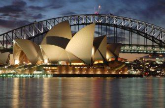 Самые большие города австралии