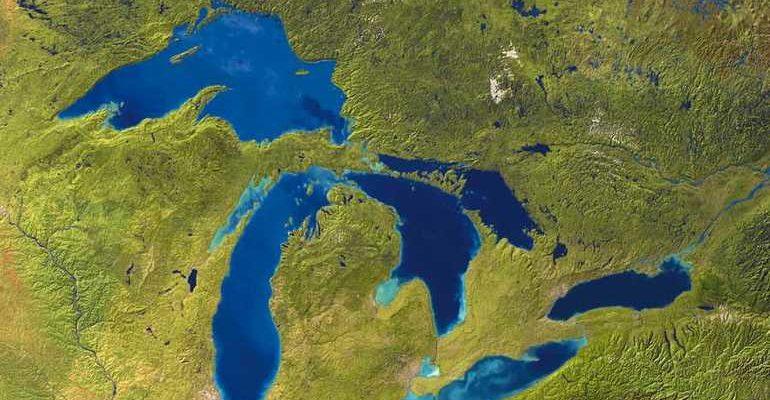 Система Великих озер Северной америки