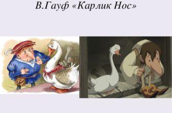Сказка Вильгельма Гауфа «Карлик Нос»