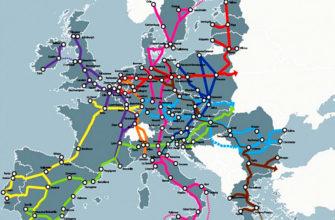 В чем специфика транспортной сети европы