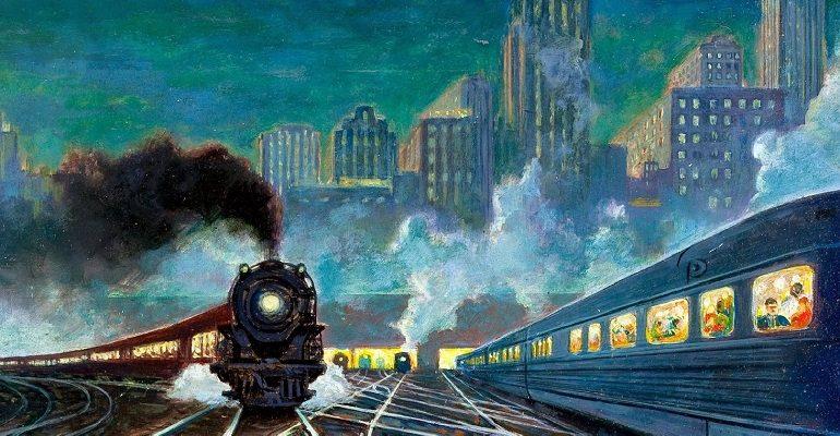 Стихи про поезда и железную дорогу