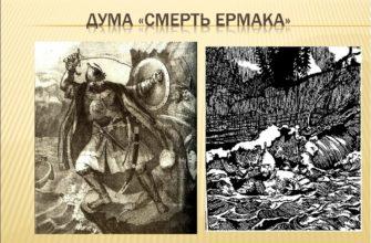 Стихотворение «Смерть Ермака»