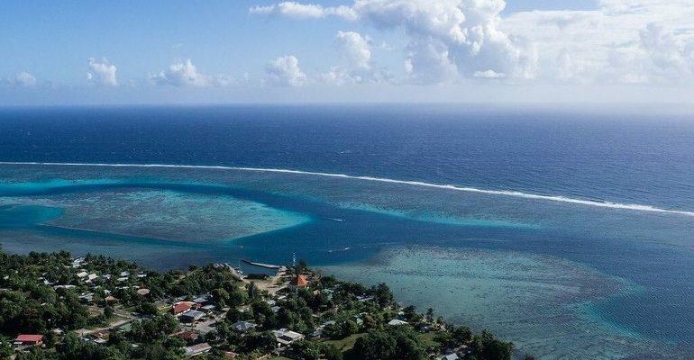 Тихий океан побережье