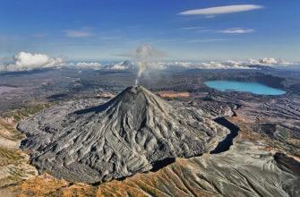 Вулканы в России