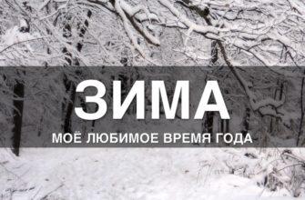 «Зима — мое любимое время года»