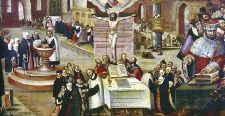 Где началась реформация