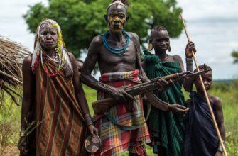 Коренные жители африки