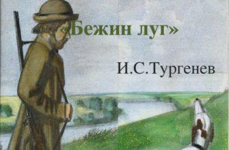Произведение И. С. Тургенева «Бежин луг»