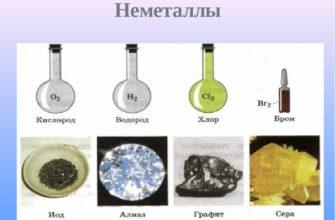 С чем реагируют неметаллы