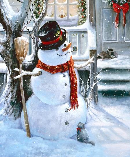 Стихи про снеговика